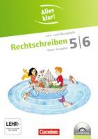 Alles klar! - Deutsch - Sekundarstufe I - Neue Ausgabe: 5./6. Schuljahr - Rechtschreiben: Lern- und Übungsheft mit beigelegtem Lösungsheft und CD-ROM