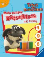 Timmy das Schäfchen: Mein bunter Rätselblock mit Timmy