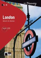 London - Buch mit Audio-CD (Black Cat Reading & Training Discovery)