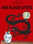 Tim und Struppi 4: Der Blaue Lotos. Kindercomic ab 8 Jahren. Ideal für Leseanfänger: Comic-Klassiker