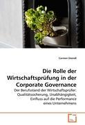 Die Rolle der Wirtschaftsprüfung in der Corporate Governance