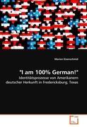 """I am 100% German!"""