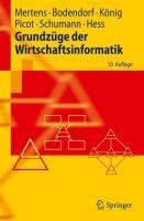 Grundzüge der Wirtschaftsinformatik (Springer-Lehrbuch) (German Edition)