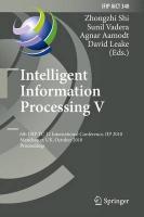 Intelligent Information Processing V