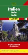 Italien, Autokarte 1:600.000