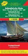 Dalmatian Coast: 1:150000: Toeristische wegenkaart 1:150 000