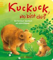 Kuckuck, wo bist du?: Ein Versteck-Spielbuch mit vielen Klappen. Ab 18 Monate