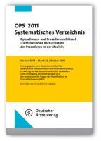 OPS 2011 Systematisches Verzeichnis