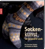 Sockenkunst im Jacquard-Look: Ein Fest der Farben mit Nadel und Wolle