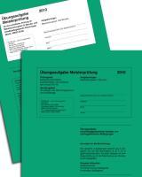 Meisterprüfung mit Lösungsvorschlägen Übungssätze für Teil III u. IV