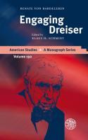 Engaging Dreiser Renate von Bardeleben Author