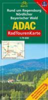 ADAC RadTourenKarte 41. Rund um Regensburg Nördlicher Bayerischer Wald. 1 : 75 000: Mit Ortsverzeichnis, Freizeitführer mit Bahn & Bike-Infos