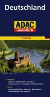 ADAC LänderKarte Deutschland 1 : 750 000: Register: Legende, Zufahrtskarten, Citypläne, Autokennzeichen, Ortsregister mit Postleitzahlen - Karte: ... landwirtschaftlich schöne Strecken