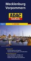 ADAC AutoKarte Deutschland, Mecklenburg-Vorpommern 1:200.000 (ADAC AutoKarten Deutschland 1:200 000)