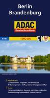 ADAC BundesländerKarte Deutschland Blatt 5 Berlin, Brandenburg 1:300 000