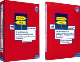ValuePack Grundzüge der Volkswirtschaftslehre + Übungsbuch (Pearson Studium - Economic VWL)