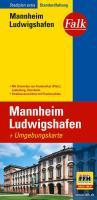 Falk Stadtplan Extra Standardfaltung Mannheim, Ludwigshafen mit Ortsteilen von F