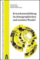 Erwachsenenbildung im demographischen und sozialen Wandel: Dokumentation der Jahrestagung der Sektion Erwachsenenbildung der Deutschen Gesellschaft ... vom 24. bis 26. September 2009