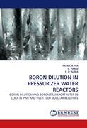BORON DILUTION IN PRESSURIZER WATER REACTORS