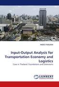 Input-Output Analysis for Transportation Economy and Logistics