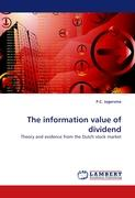 The information value of dividend