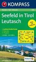 Seefeld inTirol 026 GPS wp kompass D/I/E Leutasch: Wandelkaart 1:25 000