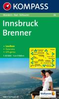 Innsbruck / Brenner 1 : 50 000