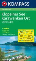 Klopeiner See / Karawanken Ost / Steiner Alpen 1 : 50 000