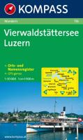 Vierwaldstätter See, Luzern 1 : 50 000: Wanderkarte. GPS-genau