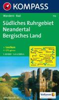 Südliches  Ruhrgebiet - Neandertal - Bergisches Land: Wandern / Rad. 1:50.000