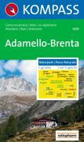 Naturpark/ Parco Naturale Adamello-Brenta 1 : 40 000