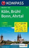 Köln, Brühl, Bonn, Ahrtal 1 : 50 000: Wandern / Rad