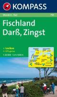 Kompass Karten, Darß, Zingst, Fischland: Wandern / Rad (KOMPASS-Wanderkarten, Band 736)