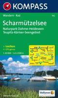 Scharmützelsee: Naturpark Dahme, Heideseen Teupitz, Köriser Seengebiet: 1:50.000. Wander- und Bikekarte. GPS-genau
