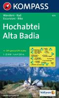 Hochabtei / Alta Badia 1 : 25 000