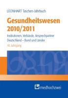 Leonhart Taschen-Jahrbuch Gesundheitswesen 2010/2011
