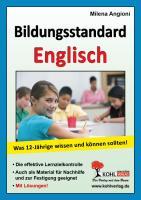 Bildungsstandard Englisch: Was 12-Jährige wissen und können sollten!