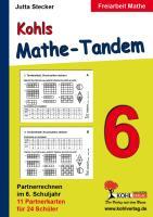 Kohls Mathe-Tandem / 6. Schuljahr: Partnerrechnen im 6. Schuljahr