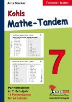 Kohls Mathe-Tandem / 7. Schuljahr: Partnerrechnen im 7. Schuljahr