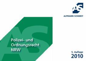 Alpmann-Cards Polizei- und Ordnungsrecht NRW