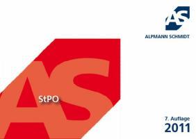 Alpmann-Cards StPO