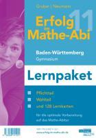 Erfolg im Mathe-Abi 2011 Lernpaket Baden-Württemberg Gymnasium: Übungsbücher für den Pflicht- und Wahlteil Baden-Württemberg mit Tipps und Lösungen ... optimale Vorbereitung auf das Mathe-Abitur