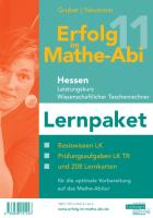 Erfolg im Mathe-Abi 2011 Lernpaket Hessen Leistungskurs wiss. Taschenrechner - Gruber, Helmut; Neumann, Robert