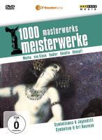 1000 Meisterwerke: Symbolismus u. Jugenstil