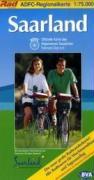 ADFC-Regionalkarte Saarland 1 : 75 000