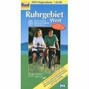 ADFC-Regionalkarte Ruhrgebiet West 1 : 50 000