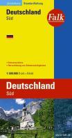 Duitsland Zuid autokaart (Falkplan Landerkarte)