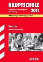 Hauptschule 2009. Deutsch. Baden-Württemberg 2007 - 2008. Format A5