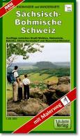 Wander- und Radwanderkarte Sächsisch-Böhmische Schweiz