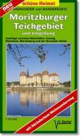Radwander- und Wanderkarte Moritzburg, Radebeul, Coswig und Umgebung: Ausflüge im Moritzburger Teichgebiet zwischen Niederau, Weinböhla und der ... mit Sächsischer Weinstraße. (Schöne Heimat)